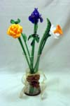 Murano Art Glass - Glass Flowers